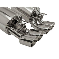 B&B Fusion Axle-Back Corvette Exhaust for Non-NPP Equipped - Quad 4.5