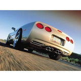 "B&B Route 66 Axle-Back Corvette Exhaust - Quad 4.5"" Oval Tips (97-04 C5 / C5 Z06),Exhaust"
