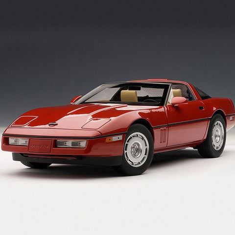 C4 Corvette - Die Cast 1:18 - Bright Red : 1986 C4,Accessories