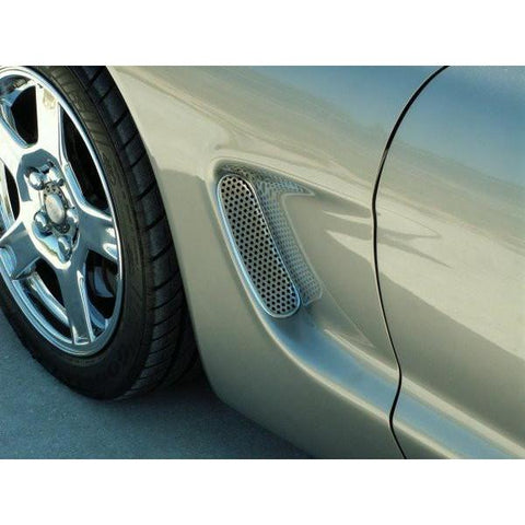 C5 Corvette Perforated Side Vents (97-04 C5 / C5 Z06),Exterior