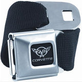 C5 Corvette Seatbelt Buckle Belt - Black,Apparel