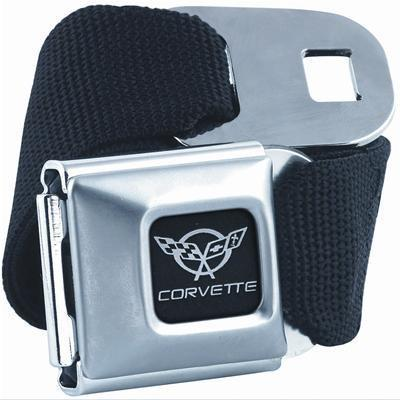 C5 Corvette Seatbelt Buckle Belt - Black