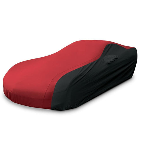 C5 Corvette Ultraguard Plus Car Cover - Indoor/Outdoor Protection : Red/Black