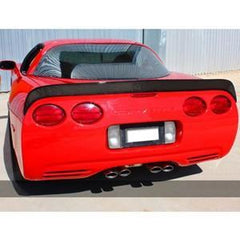 C5 & Z06 Corvette Rear Spoiler - C5 Race Edition Spoiler Carbon Fiber