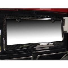 C5/C6/C7 ALL: Corvette License Plate Frame - Carbon Fiber