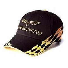 C6 Corvette - Embroidered Bad Vette Hat Yellow