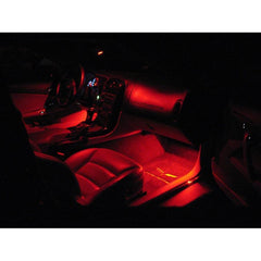 C6 Corvette Footwell LED Lighting Kit : 2005-2013 C6, Z06, ZR1, Grand Sport