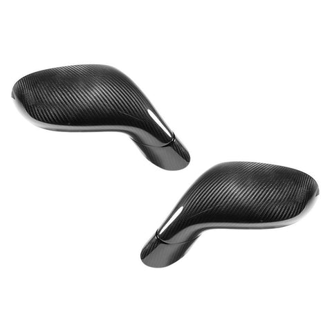 C6 Corvette Replacement Side Mirrors - Carbon Fiber
