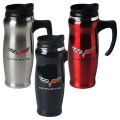 C6 Corvette Stainless Mug W/ Handle