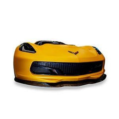 C7 Corvette - ACS Front Splitter with Deflectors - Carbon Fiber : Stingray