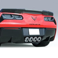 C7 Corvette - ACS Rear Diffuser Fins - Carbon Flash Stingray & Z06