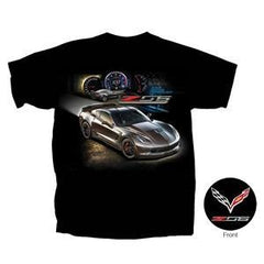 C7 Corvette - Race Proven Z06 T-shirt : Black