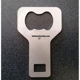 C7 Corvette - Seat Belt Warning Eliminator & Bottle Opener : Stingray, Z51, Z06,Accessories