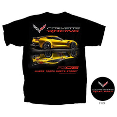 C7 Corvette - Z06 Corvette Racing T-shirt : Black
