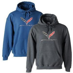 C7 Corvette Embroidered Sweatshirt Hoodie