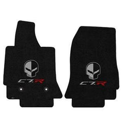 C7 Corvette Floor Mats - Lloyds Mats - Corvette Racing C7R Jake Logo
