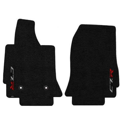 C7 Corvette Floor Mats - Lloyds Mats - Corvette Racing C7R Logo,Interior
