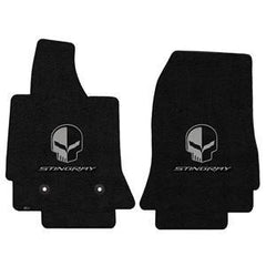 C7 Corvette Floor Mats - Lloyds Mats - Stingray Script and Jake Logo