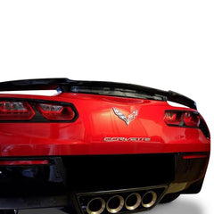C7 Corvette High Rise Factory Style Rear Spoiler - Painted : Stingray
