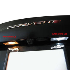 C7 Corvette License Plate LED Lighting Kit