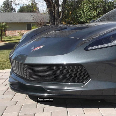 C7 Corvette One Piece Lower Valance Grille,Exterior