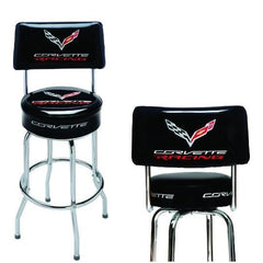 C7 Corvette Racing Counter/Pub Stool w/Back
