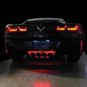 C7 Corvette Rear Facia/Exhaust LED Lighting Kit