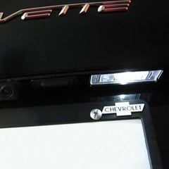 C7 Corvette Rear Hatch & License Plate LED Lighting Kit