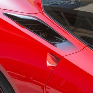 C7 Corvette Stingray - Rear Quarter Vent Sport Fade Graphic 2pc