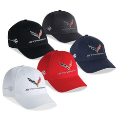 C7 Corvette Stingray Chino Cap Embroidered - MADE IN USA