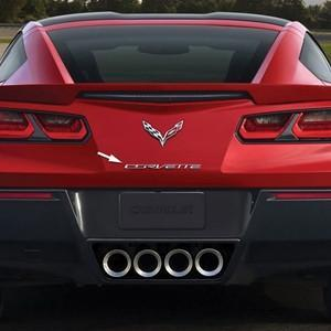 C7 Corvette Stingray Chrome Rear Letters,Exterior