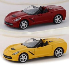 C7 Corvette Stingray Convertible Diecast 1:24