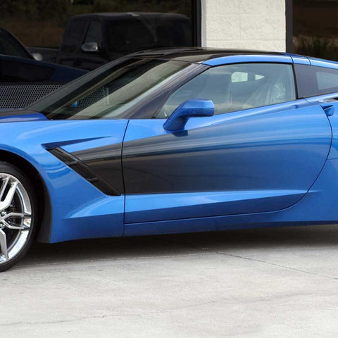 C7 Corvette Stingray Custom Side Graphic Sport Fade