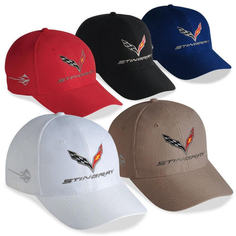 C7 Corvette Stingray Embroidered DuPont Performance Cap,Apparel