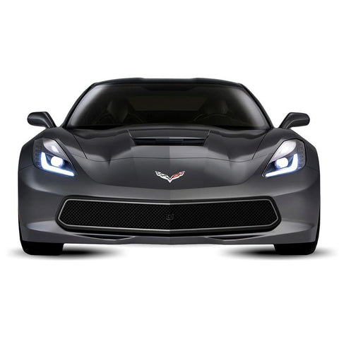 C7 Corvette Stingray Front Grille - Urban : Black,Exterior