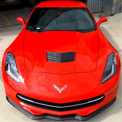 C7 Corvette Stingray GTX Front Splitter - Carbon Fiber