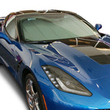 C7 Corvette Stingray Insulated Silver Accordion Style Sunshade,Car Care