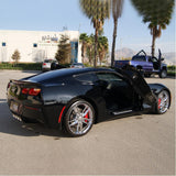 C7 Corvette Stingray Lambo Style Vertical Doors - ZLR Door Hinge Conversion Kit,Exterior