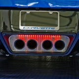 C7 Corvette Stingray Perforated Exhaust Port Filler Panel,Exhaust