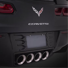 C7 Corvette Stingray Rear License Plate Frame : Painted