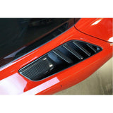 C7 Corvette Stingray Rear Quarter Vent Direct Fit - Carbon Fiber
