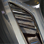 C7 Corvette Stingray Rear Quarter Vent Grilles 2Pc Polished : Matrix Series,Exterior