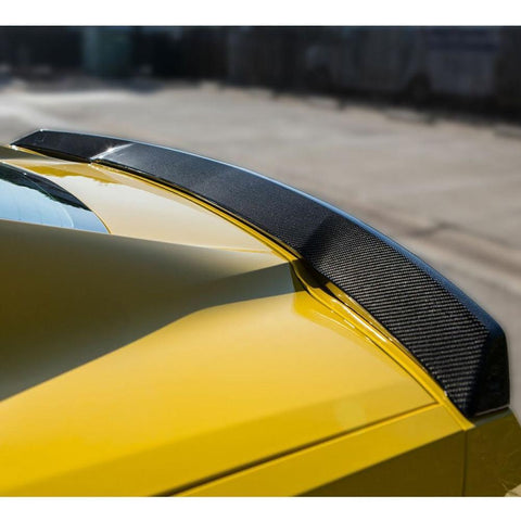 C7 Corvette Stingray Rear Spoiler - Carbon Fiber