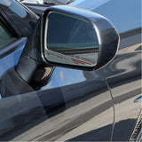 "C7 Corvette Stingray Side View Mirror with ""STINGRAY"" Script 2Pc : Auto-Dim Mirror,0"