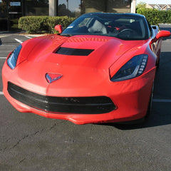 C7 Corvette Stingray SpeedLingerie Super Bra - Nose Cover
