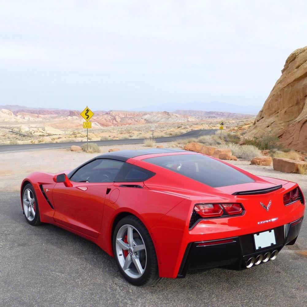 C7 Corvette Transparent Blue Roof Panel Stingray Z51