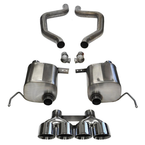 Corsa Corvette Exhaust (14766): Quad 4.50