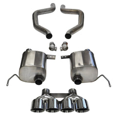 Corsa Corvette Exhaust (14768): Quad 4.50