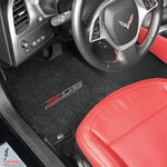C7 Corvette Z06 Floor Mats - Lloyds Mats- Z06 Supercharged Logo,Interior