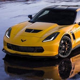 C7 Corvette Z06 Front Grille - Carbon Flash,Exterior
